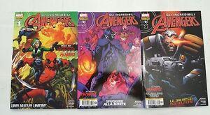 GLI-INCREDIBILI-AVENGERS-n-1-3-Nuovissima-Marvel-Panini-Comics