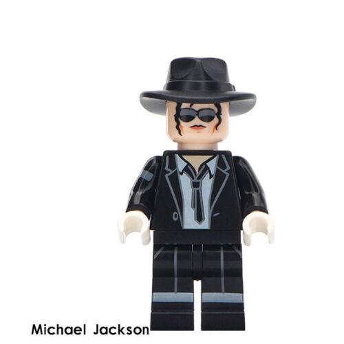 Building Block Bruce Lee Michael Jackson Elvis Presley Celebrities Toys New 2019