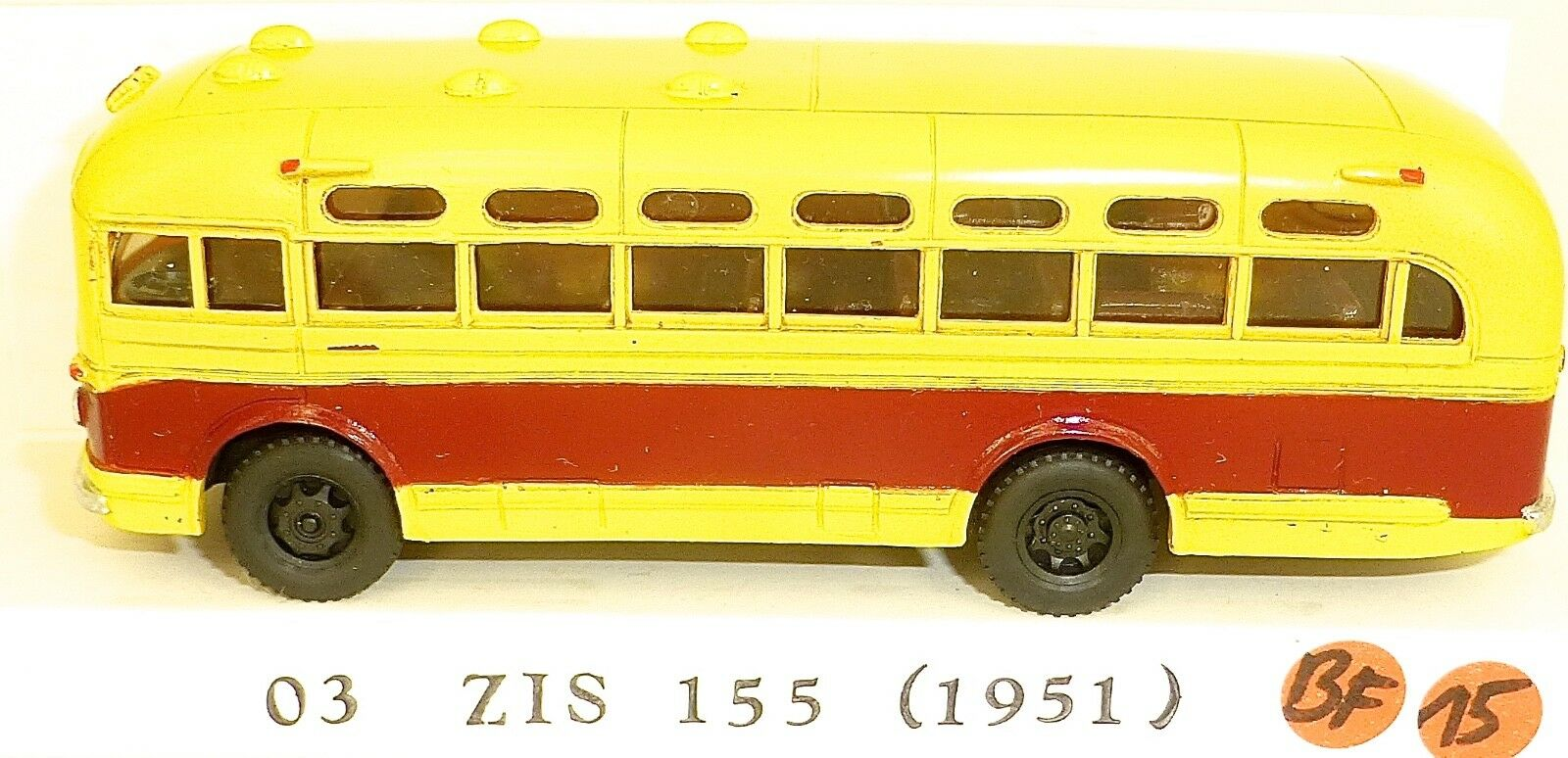 03 das 155 harz bus verrotten creme v & v  87 h0 bf15 å