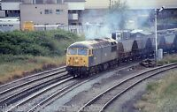 British Rail Class 56 56028 Warrington Arpley 07/07/86 Rail Photo