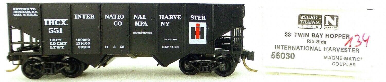 Micro Trains Line 56030 Int Harvester 551 33' Twin Hopper OVP 1 160  K134 å