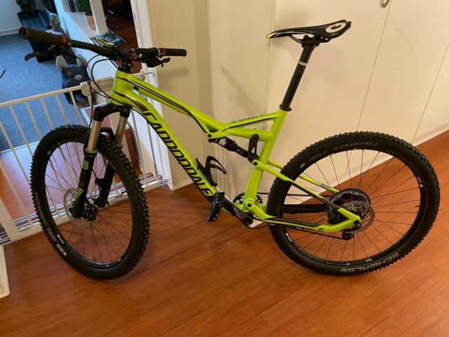 Cannondale Habit Alloy 5 , full suspension, 11 gear, En…