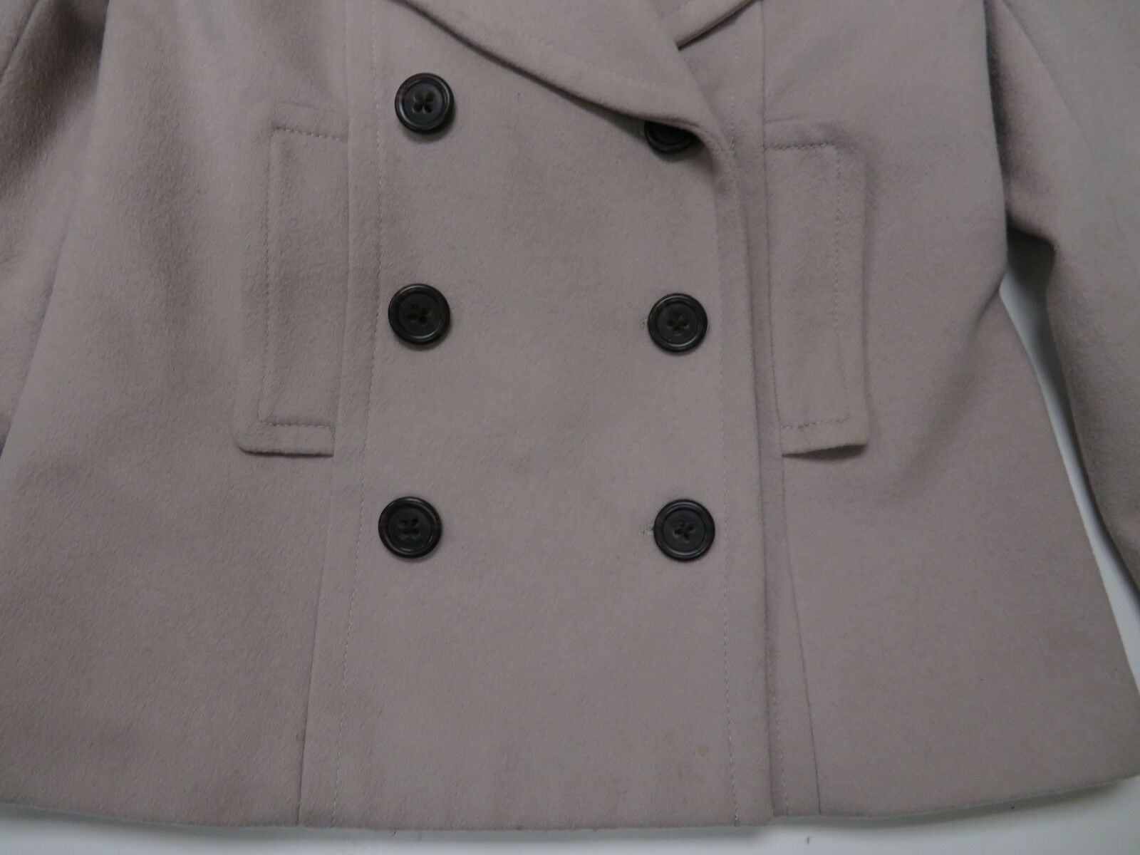 J Crew Wool Harbor Peacoat With With With Thinsulate Womens Sz 0 Double Breasted 48a104