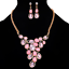 Fashion-Elegant-Women-Rhinestone-Crystal-Choker-Bib-Statement-Pendant-Necklace thumbnail 10