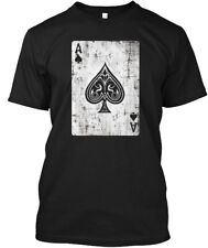 Baby Girls Kids ACE of Spades Poker ComfortSoft Long Sleeve Tee