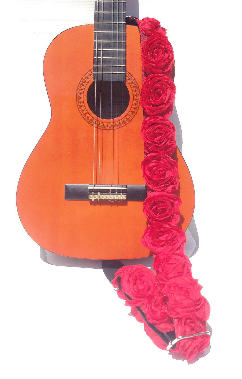 GUITAR STRAP STRAP STRAP KID Talla HOT rosado ORGANZA rosados 2  by  Capturing Couture KID20-HPRS c23189