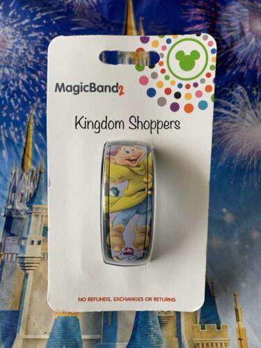 NEW Disney Parks Magic Band 2 Snow White Seven Dwarfs DOPEY 2019 LINK IT LATER