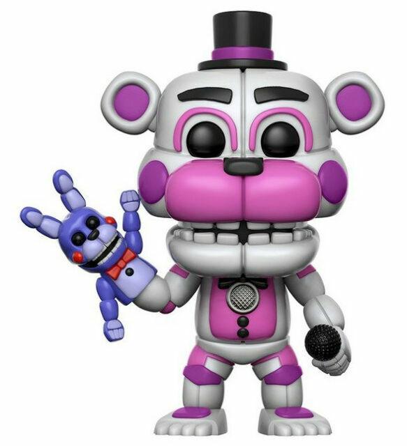 Five Nights At Freddy /'Funtime Freddy Figura de Vinilo Pop Edición Limitada Chase!