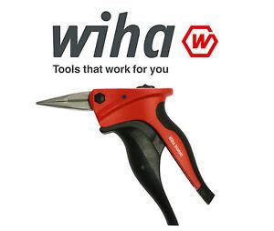 Wiha-INOMIC-160mm-6-1-4-Straight-Snipe-Needle-Long-Nose-Cutting-Plier-33256