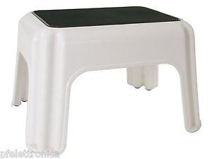 Giganplast sgabello plastica bianco ebay