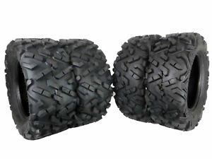 MASSFX-4-Set-Dual-Compound-27x11-14-Rear-27x9-14-Front-ATV-Tires-6-Ply