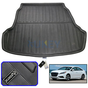 Image Is Loading Tailored Rear Boot Cargo Liner Trunk Mat Floor