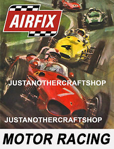Aifix-Motor-Racing-Slot-Car-1966-Large-Size-Poster-Advert-Leaflet-Shop-Sign