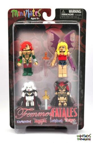 Femme Fatales Minimates Series 1 Box Set