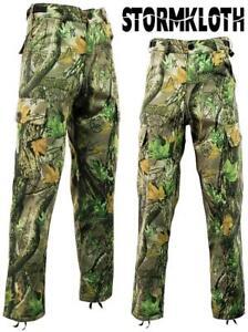 STORMKLOTH-Camuflaje-Camo-Cargo-Pantalones-Pantalones-de-Caza-Pesca-Exterior