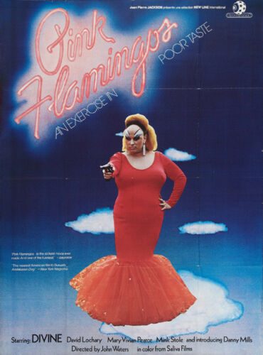 "Divine Pink Flamingos Movie Poster Replica 13x19/"" Photo Print"