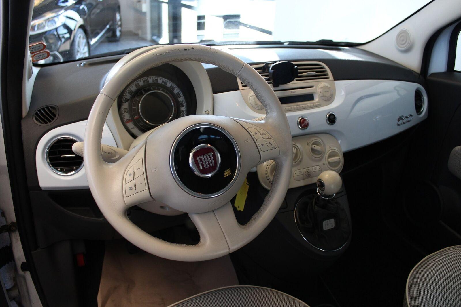 Fiat 500 1,2 Lounge - billede 5