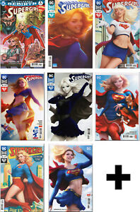 SUPERGIRL-COMIC-BOOKS-ASSORTED-DC-COMICS-REGULAR-VARIANT-ARTGERM-COVERS