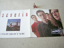 "SEVERIN Acid To Ashes Rust To Dust PROMO-POSTER DISCHORD, 30 x 60 cm (12""x24"")"