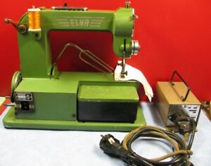 Machine a coudre ancienne elna type 500890 vers 1950 ebay for Machine a coudre 1950