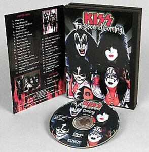 KISS - VIDEO -DVD - SECOND COMING - OFFICIAL - ZONE 1 AMERICA - USA 99 - V260301