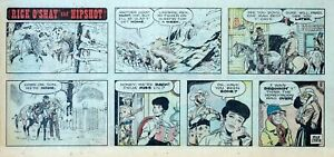 Rick-O-039-Shay-by-Stan-Lynde-full-color-Sunday-comic-page-December-8-1974