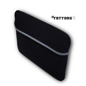 Marken-Tasche-fuer-Tablet-PC-bis-11-11-6-Zoll-Etui-Huell-Neopren-Schwarz
