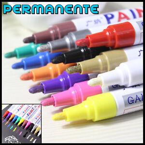 Rotulador-PAINT-Permanente-Marcador-Para-Rueda-Neumatico-de-Bici-Coche-Moto