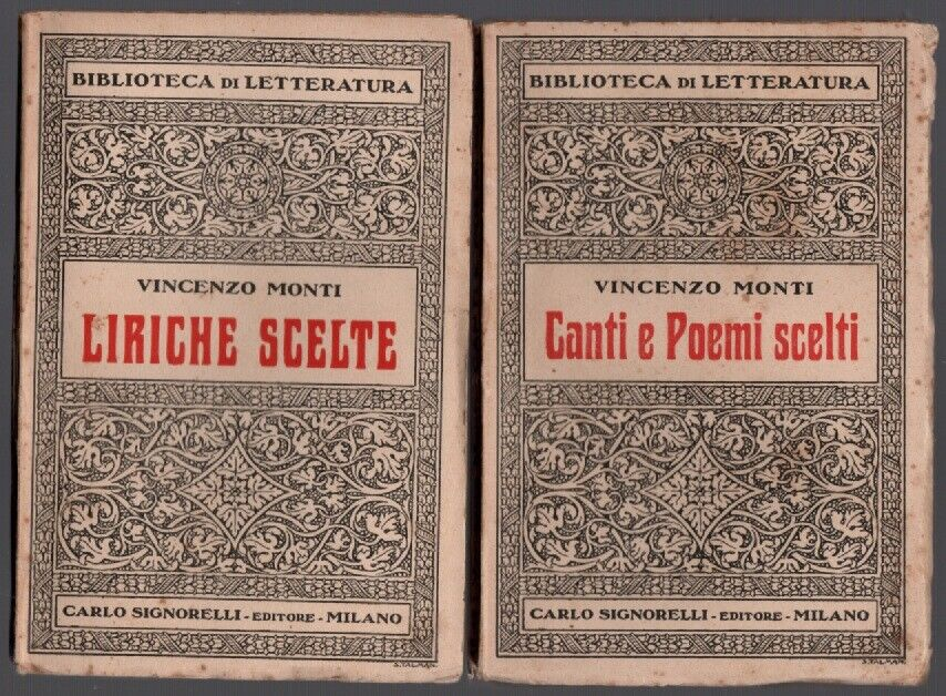 LIRICHE SCELTE + CANTI E POEMI SCELTI