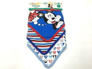 Colours May Vary Mickey Mouse Tie Bib