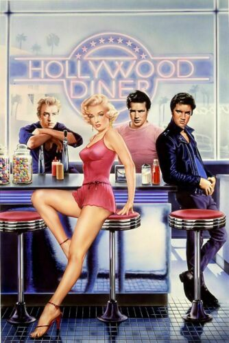 272794 Hollywood Diner Movie PRINT GLOSSY POSTER AU