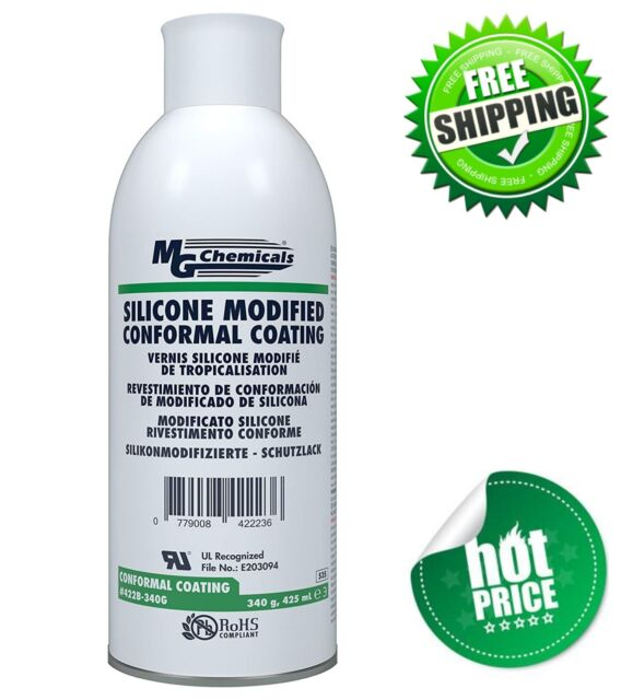 MG Chemicals Silicone Conformal Coating Circuit Boards Protection Spray 12  Oz