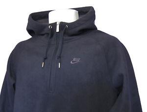 NEU-Nike-SPORTSWEAR-NSW-Fit-Therma-Fleece-Kapuzenpullover-Marineblau-Medium