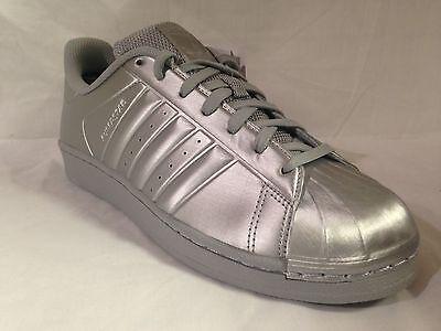 adidas superstar metallic silver