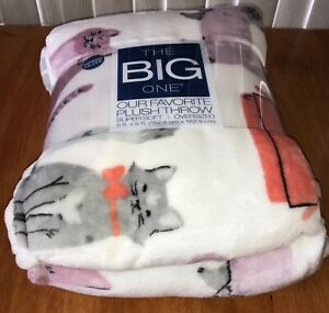 The Big One Throw Blanket Fall Leaves Oversized Super Soft 5/'x 6/' New