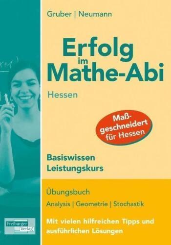 1 von 1 - Erfolg im Mathe-Abi Hessen Basiswissen Leistungskurs Abitur Mathematik Gruber