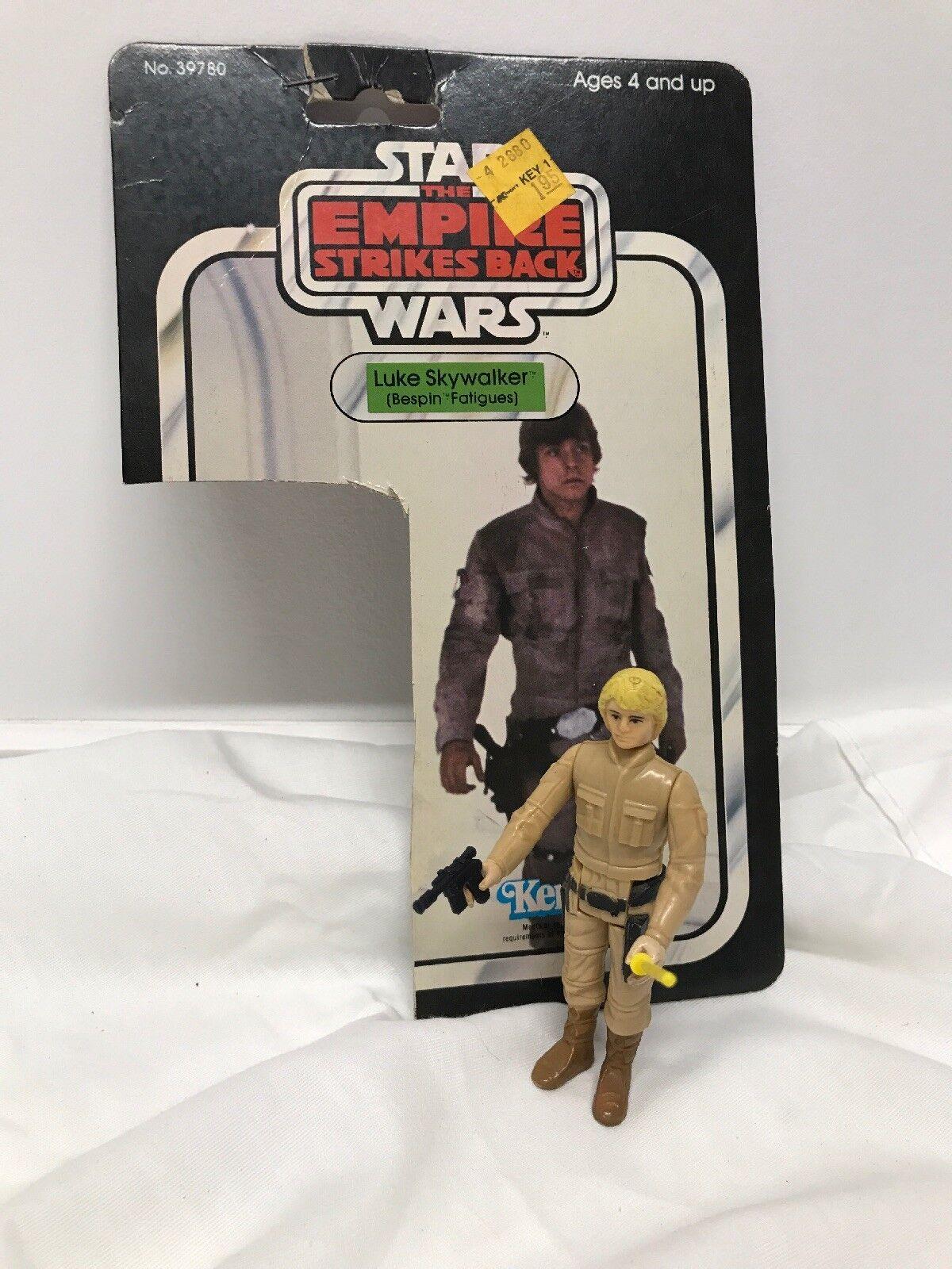 """Vintage Star Wars ESB 1982 Luke  """"Bespin Fatigues"""" - """"Vintage Complete"""