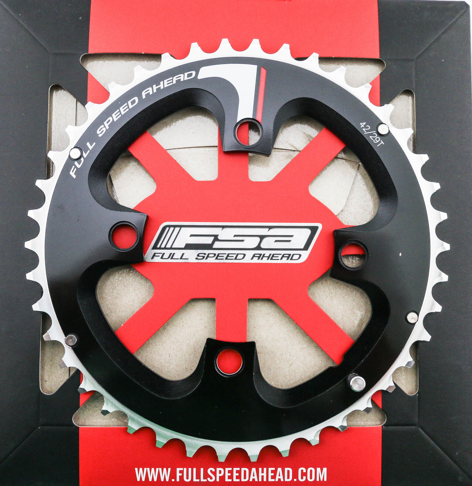 FSA Pro ATB 9sp 104x44T X-10 Alloy Black Chainring New MTB Mountain Bike OEM