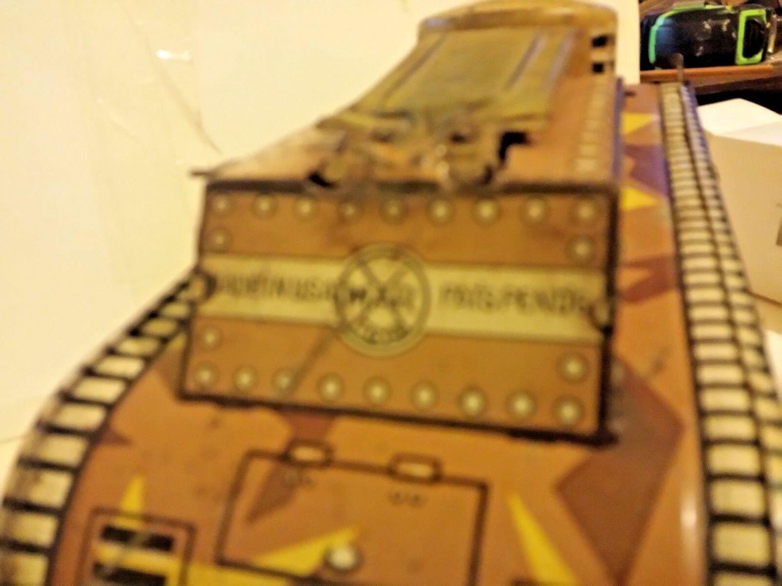 Marx Dough Boy Metal Wind Up Tank Tin Litho Wind Wind Wind Up Key 9242ab