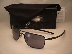 Oakley Gauge 8 >> Details About Oakley Gauge 8 Matte Black W Grey Lens New Sunglasses Oo4124 01 57mm