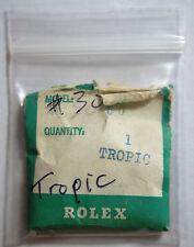 Genuine Rolex 30 Tropic Plastic Plexi Acrylic Watch Crystal 25-30