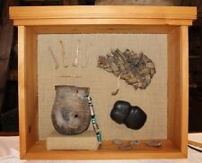 Prehistoric Native American Artifacts (Stone Axe, Pot, Sandle, Pottery Sharde..)