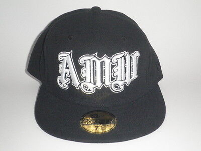 Lil Wayne Americas Most Wanted AMW Logo Young Money Black New Era 59Fifty Fitted