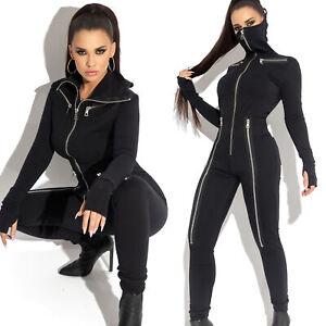 BY-Alina-MEXTON-Damenoverall-Einteiler-Catsuit-Overall-Jumpsuit-34-38-D397