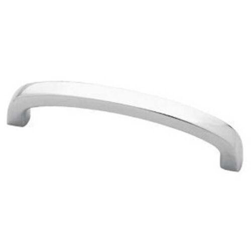 "P50413-CHR Squared Bow 3 3//4/"" Chrome Cabinet Drawer Knob Pull"