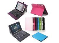 Apple Ipad Gen Stand Leather Case Cover W/ Bluetooth Keyboard Ap-btkey