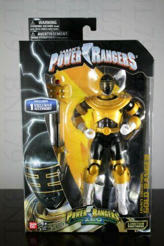 """Gold Ranger Legacy Power Rangers Zeo Collection Figure 6.5/"""" personnel Jason DGSIM"""