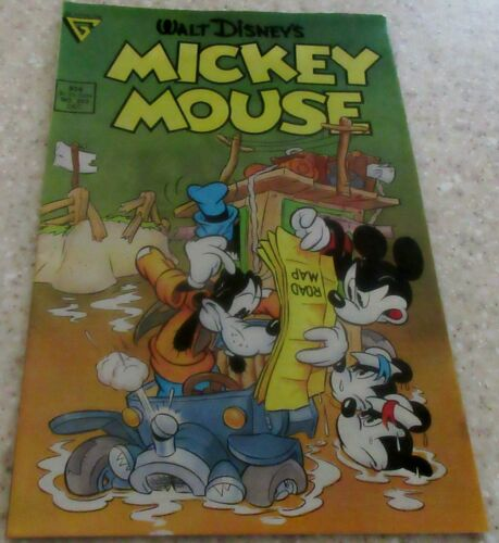 """Walt Disney/'s Mickey Mouse 243 NM- 9.2 /""""Unhappy Campers!/"""""""