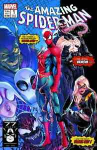 Details about AMAZING SPIDERMAN 1 vol 5 2018 JAMAL CAMPBELL 3000 PRINT  VARIANT NEW MUTANTS 98