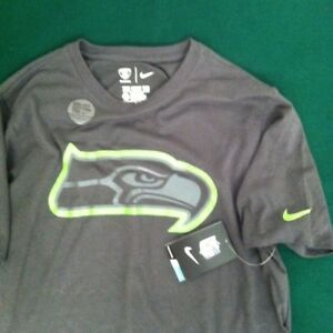 New w tag NIKE dri-fit Seattle Seahawks t-shirt. Size  men s M.  925c2dcb0